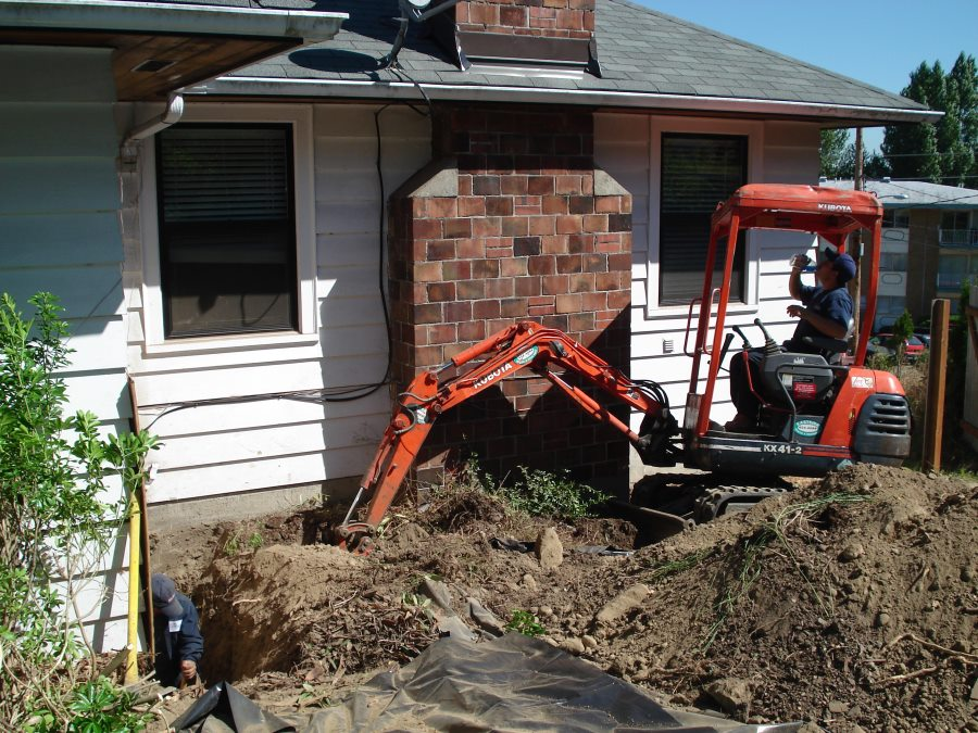 Northwest exterior drainage solutions in Seattle, Tacoma, Everett and Bellevue